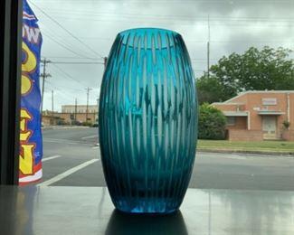 Contemporary Glass Vase - $75
