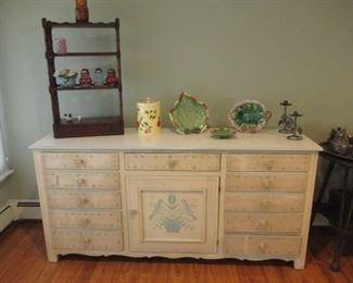 Hand Painted Dresser/Storage