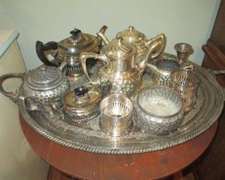 Silver/Plate Serving Sets
