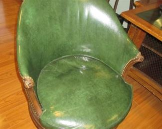 Great Leather Tufted/Nailhead Chairs