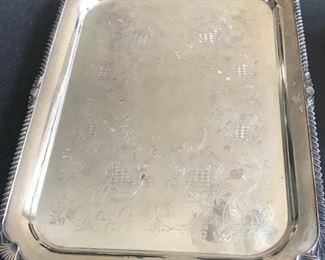 $295, Silverplate Tray