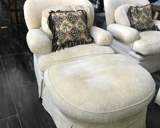 $700 for Chairs and Ottomans