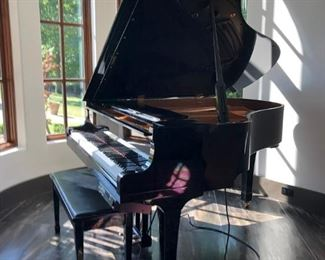 $7500, Yamaha Baby Grand Player Piano