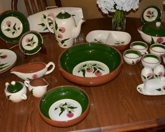 Stangl Pottery Dishes, Bowls, Coffee Carafe, Cream Sugar, Gravy, Butter Dish