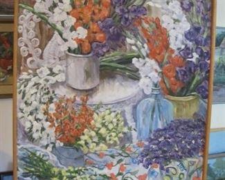 "$175.00,  Bouquet of Flowers,  Original Jane Coates, 31/41"""