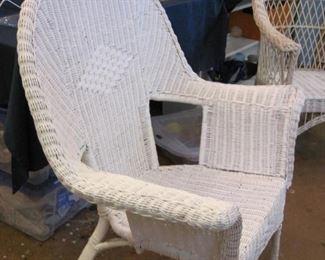 $40.00, Wicker Chair