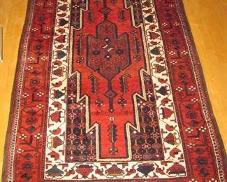 "$300.00, Persian Baluch Carpet runner handwoven all wool ca.1990-2000,  7'10"" x 3'10"", very good condition"