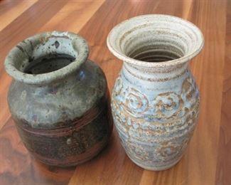 "$20.00, 7"" Studio Art Pottery"