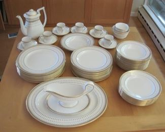 $350.00, Spode Queen's Gate Service for 10, but only 6 tea cups and coffee pot. VG condition