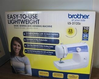 Brother Ls-2125i lightweight sewing machine new in box