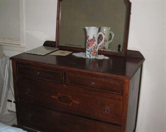 1940s dresser with mirror