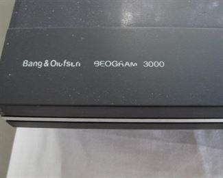 Bang & Olufsen Beogram 3000 turntable