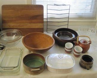 Kitchen ware fabulous wood cutting board!!