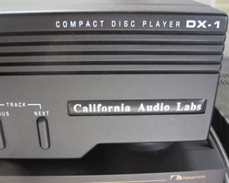 California Audio Labs Compact Disc Player DX-1
