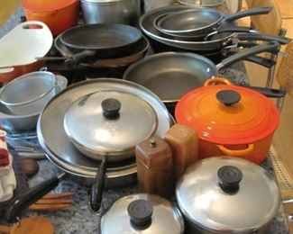 Revere ware and Le Creuset