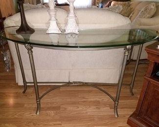 Matching sofa table