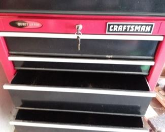 Craftsman Tool Chest with keys