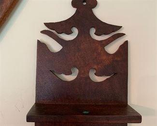Carved shelf