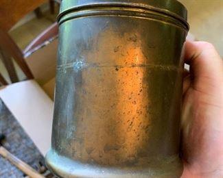 Brass humidor