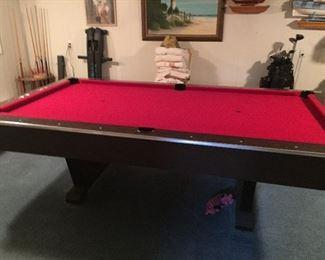 Mid Century pool table