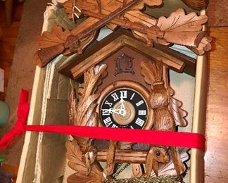 Large cuckoo clock from Germany...unassembled, new in box!