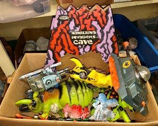 Remco Hamilton's Invaders Cave set!