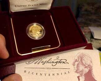 US Mint Proof Gold Five Dollar coin