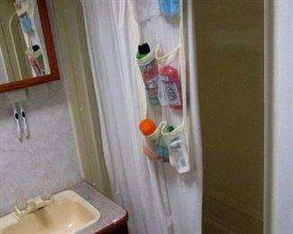 Bathroom Shower in Camper