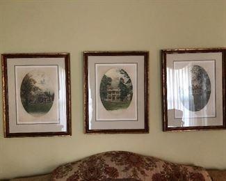 Hermitage, Monticello, and Mt. Vernon. E.R. Gongs