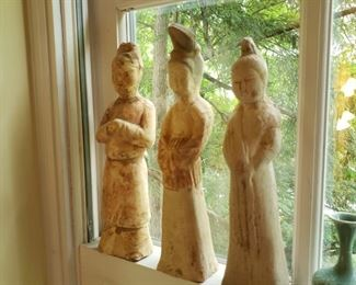 Chinese funerary figures