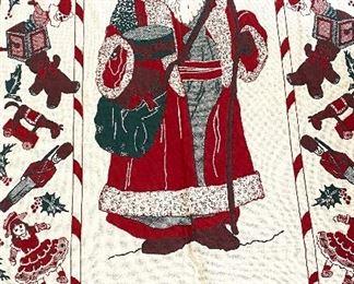 Santa Clause afghan