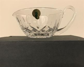 SALE $40 Waterford Lismore Gravy Boat $45Brand New