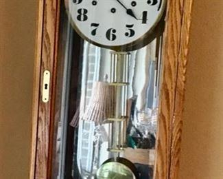 Beautiful Howard Miller Wall Clock in Full Working Order