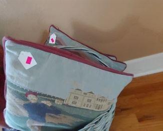 Pillows golf decor