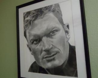 Dale Ernhardt Jr. Pencil Drawing Artwork. (Not included in Discount Days)  Offers