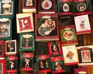 New in boxes, Hallmark ornaments