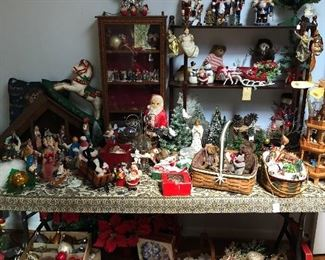 Vintage Christmas items