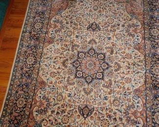 detail of hallway carpet