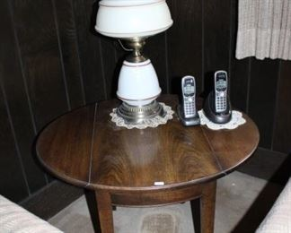 DROP SIDE TABLE,  LAMP