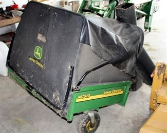 John Deere Material Collection Cart Bagger Model # MC519