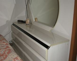 white dresser with mirror    BUY IT NOW $ 85.00
