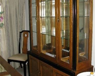 Thomasville china cabinet   BUY IT NOW $ 185.00