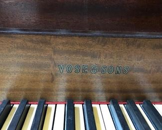 Vose & Sons Baby Grand piano