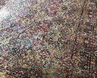 "Antique wool rug  (Karastan) 14'11""X 8'10"""