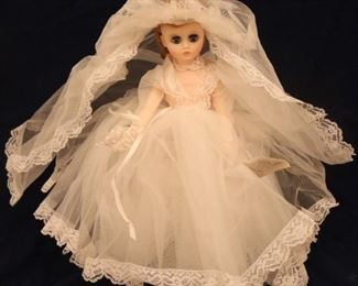 Lot# 2001 - Madame Alexander Bride Doll
