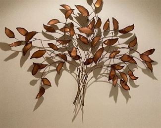 MCM LEAF WALL HANGING BY WILLIAM BOWIE