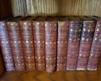 Washington Irving Set  $100