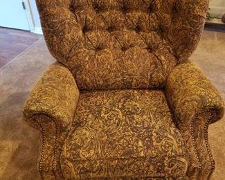 Paisley Recliner Excellent Condition  $225