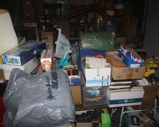 garage is packed ~ loads more comin