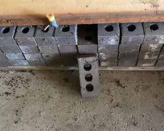 Approximately 80 — 3 hole bricks